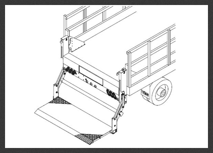 TT-20ET-Steel Toplifter Liftgates
